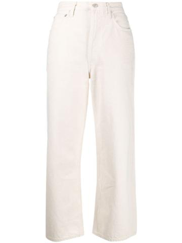 Agolde Paper Jeans - White