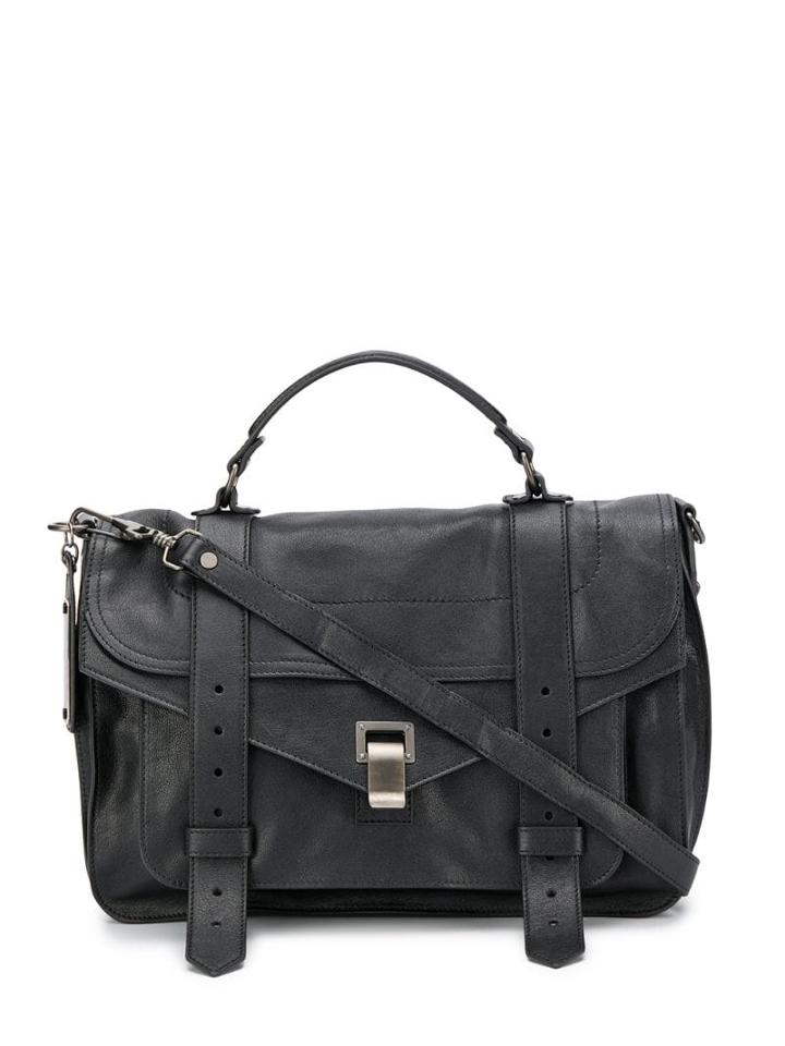 Proenza Schouler Medium Ps1 Satchel - Black