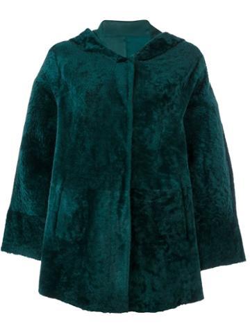 Drome Hooded Cape Coat