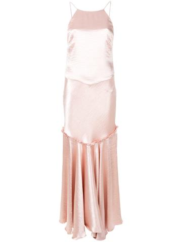 Maria Lucia Hohan Becca Gown - Pink & Purple