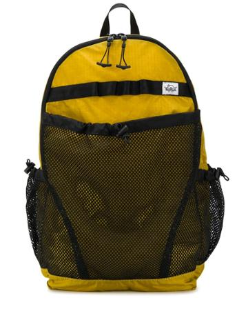 Woolrich Ripstop X Mesh Backpack - Yellow