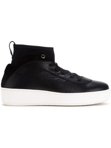 Amb Hi-top Lace-up Sneakers