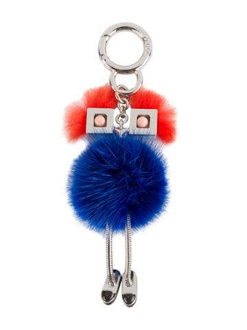 Fendi - Chick Bag Charm - Women - Mink Fur/metal - One Size, Women's, Blue, Mink Fur/metal