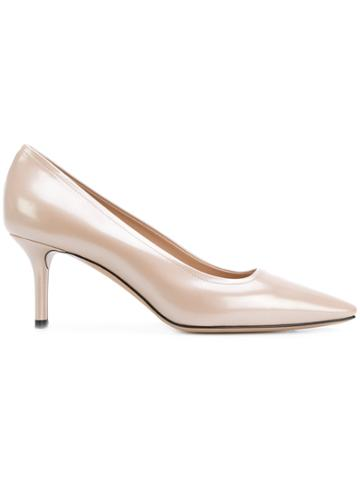 Casadei Perfect Pump Pumps - Nude & Neutrals