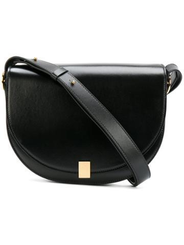 Victoria Beckham - Shoulder Saddle Bag - Women - Calf Leather/calf Suede - One Size, Black, Calf Leather/calf Suede