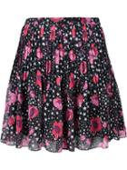 Giamba Floral And Star Print Skirt