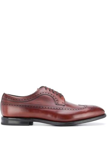 Church's Perforated Detail Oxford Shoes - Brown
