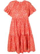 Ulla Johnson Oversized Rosemarie Dress - Orange