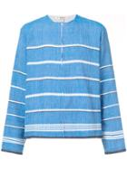Lemlem Striped Longsleeve Pullover - Blue