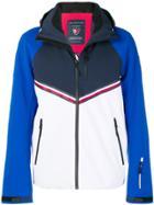 Rossignol Hooded Panelled Jacket - Blue