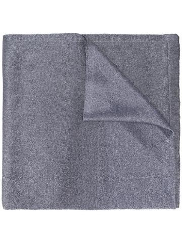 Missoni Metallic Scarf - Grey