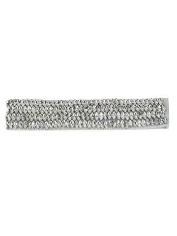 Andrea Bogosian Embellished Headband - White