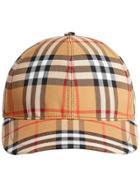 Burberry Vintage Check Baseball Cap - Nude & Neutrals
