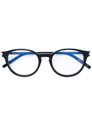 Saint Laurent - Round Frame Glasses - Unisex - Acetate - One Size, Black, Acetate