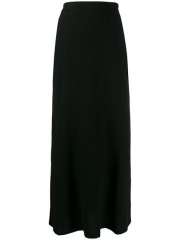 Yohji Yamamoto Knitted Long Skirt - Black