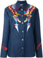 Tsumori Chisato Embroidered Denim Shirt