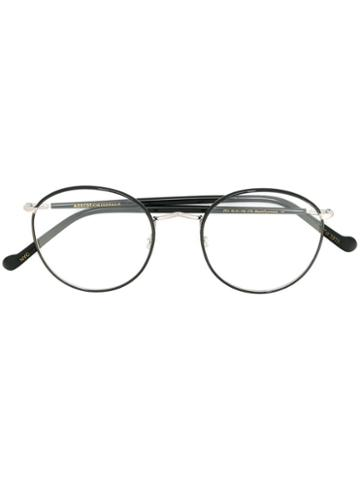 Moscot 'zev' Glasses, Black, Metal (other)