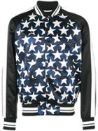 Valentino Star Print Jacket - Blue