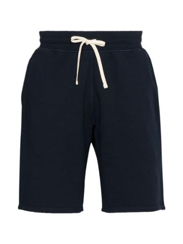 Reigning Champ Knee-length Track Shorts - Blue