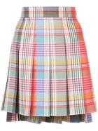 Thom Browne Fun Mix Plaid Skirt - Multicolour