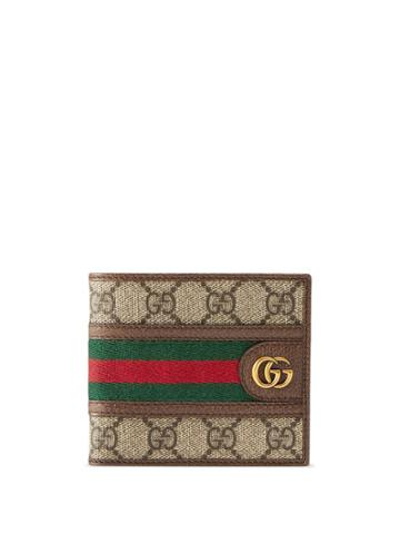 Gucci Ophidia Gg Coin Wallet - Brown