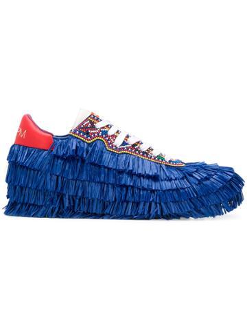 Philippe Model Tropez Limited Stella Jean Sneakers - Blue