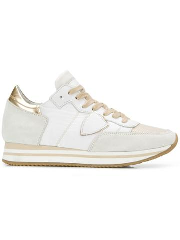 Philippe Model Tropez Higher Sneakers - White