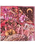 Salvatore Ferragamo Fantastic Animal Print Scarf - Multicolour