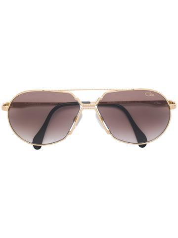 Cazal Aviator Framed Sunglasses - Metallic