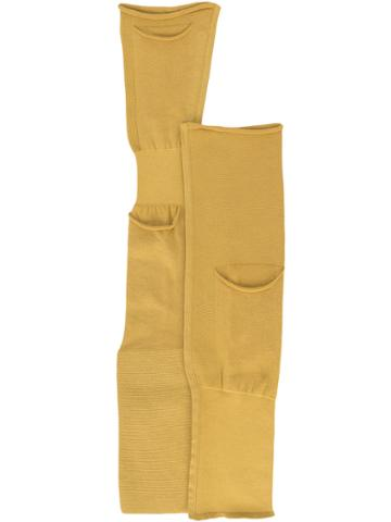 Rick Owens Day Sleeve Holsters - Yellow & Orange