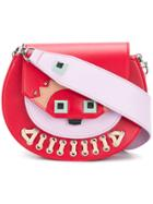 Salar Mari Monster Shoulder Bag - Red