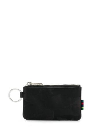 Ps Paul Smith Ring Detail Wallet - Black