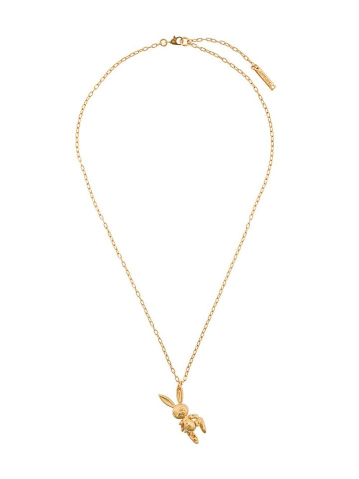Ambush Inflatable Bunny Necklace - Gold