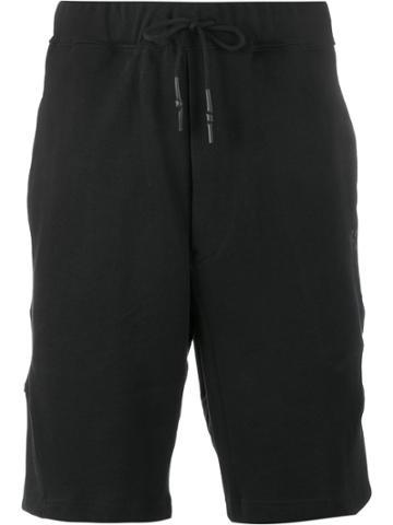 Y-3 Logo Jersey Shorts - Black