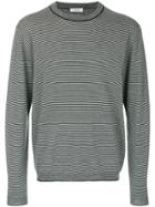 Mauro Grifoni Striped Sweater - Grey