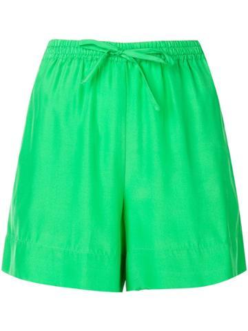 P.a.r.o.s.h. Drawstring Short Shorts - Green