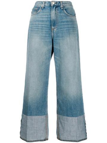 Rag & Bone High Rise Ruth Jeans - Blue