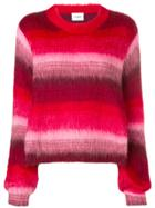 Dondup Striped Sweater - Red