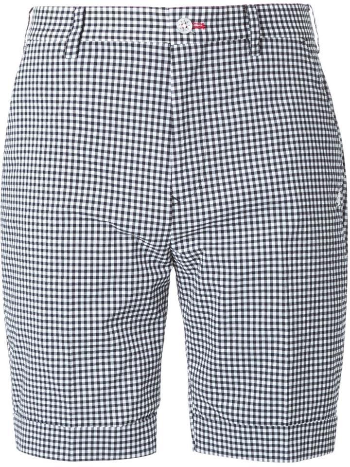 Loveless Checked Print Tailored Shorts