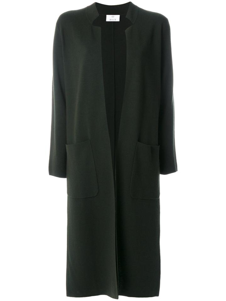 Allude Long Cardigan - Green