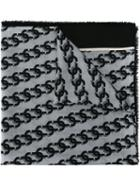 Marc Jacobs Link Chain Print Scarf