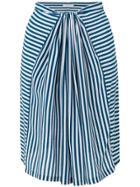 Humanoid Striped Skirt - Blue