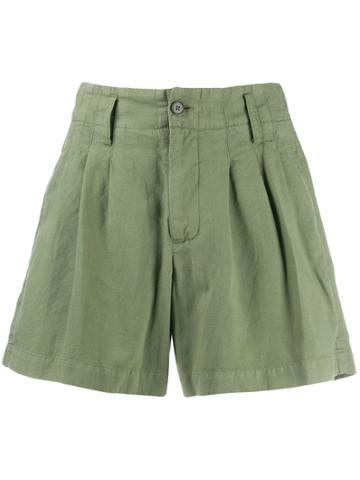 Ymc Plain Short Shorts - Green