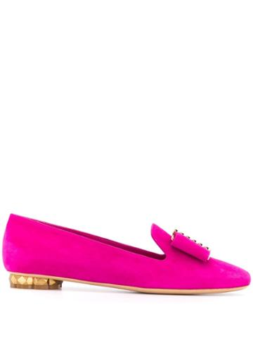 Salvatore Ferragamo Flat Loafers - Pink