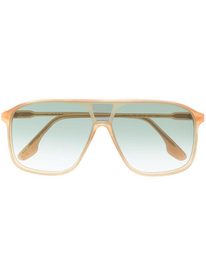 Victoria Beckham Oversized Frame Sunglasses - Neutrals