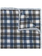 Eleventy - Checked Scarf - Men - Wool - One Size, Brown, Wool