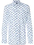 Barba Floral Shirt - Blue