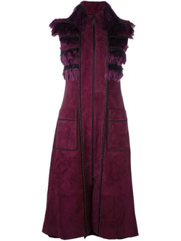 Jitrois 'yoko' Sleeveless Coat