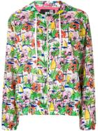 Love Moschino All Over Print Lightweight Parka - Multicolour