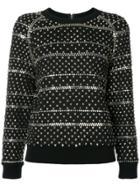 Ashish Studded Sweatshirt - Black